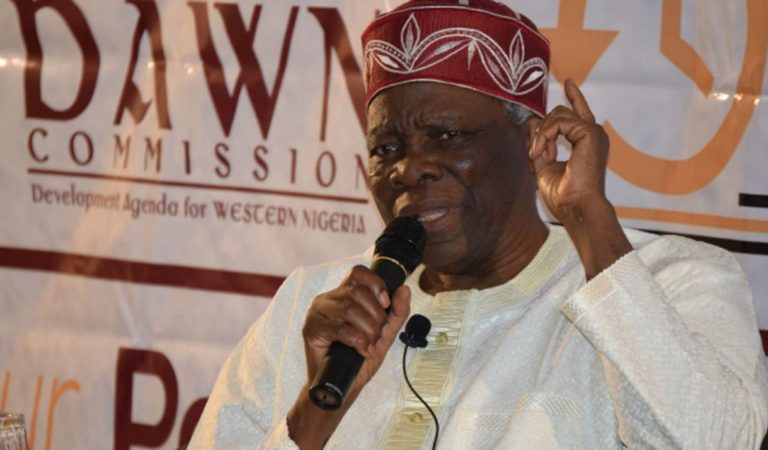 Sign petition in motion to seek referendum for Yoruba nation – Prof Akintoye
